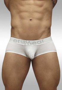 Ergowear Max Mesh Boxer Brief Underwear White/Grey