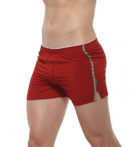 Private Structure Utopia Loose Boxer Shorts Underwear Maroon...
