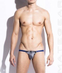 Mategear Won Yeong Very Sexy Air Nylon Jock Strap Underwear Silver TH250303