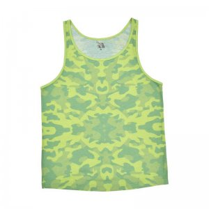 Gaytanks Camo Tank Top T Shirt Green