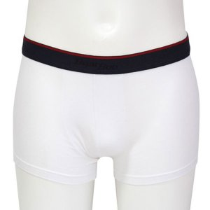 Minerva Sporties Bamboo Boxer Brief Underwear White 20710