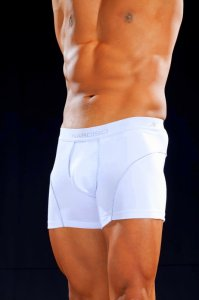 Narciso Boxer Brief Underwear NUBIA 06 White/Grey