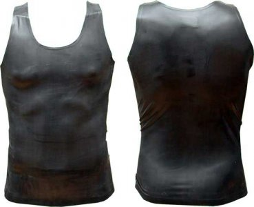 Mister B Rubber Vest Muscle Top T Shirt 300300