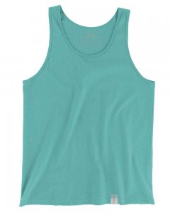 The Well Branded 100% Soft Airlume Cotton Classix Tank Top T Shirt Teal