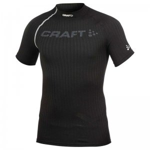 Craft Active Extreme Logo Short Sleeved T Shirt Black/Platinum 193890