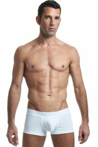 L'Homme Invisible Blanc T Boxer Brief Underwear White MY05-S02