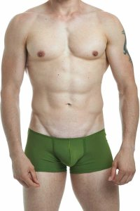 L'Homme Invisible FIR Boxer Brief Underwear Green MY04L-S17