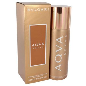 Bvlgari Aqua Amara Body Spray 5 oz / 147.87 mL Men's Fragran...