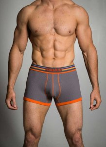 Baskit Ribbed Low Rise Trunk Underwear Pewter