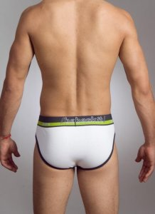 Baskit Pure Brief Underwear Super White P1101N