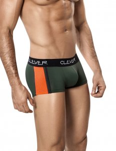 Clever Princeton Latin Boxer Brief Underwear Green 2202