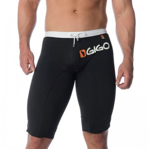 Gigo LOGO BLACK Medium Jammer Swimwear S04102