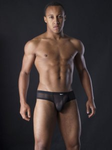 MANstore M255 Micropo Brief Underwear Black 2-08243/8000