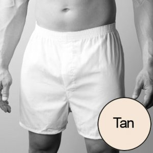 [2 Pack] Players Big Man's Broadcloth Loose Boxer Shorts Underwear Pastels
