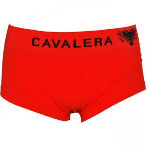 Cavalera Seamless Microfiber Trunk Boxer Brief Underwear Red 445-01