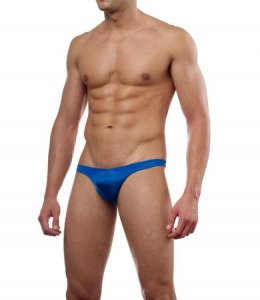 Cover Male Pouch Enhancing Thong Underwear & Swimwear Royal Blue 202