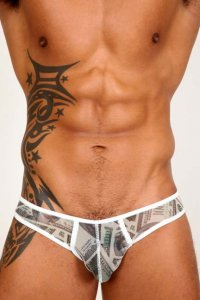 Pistol Pete Cash Mesh Brief Underwear UB220-651