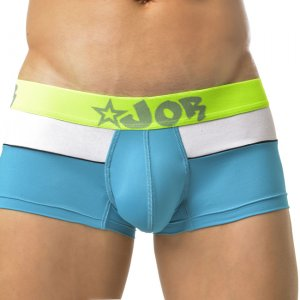 Clearance Jor BORDER Boxer Underwear Turquoise