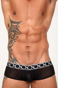 Pistol Pete Scope Trunk Underwear Black UT434-704