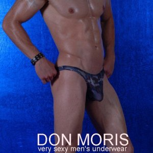 Don Moris Camouflage Thong Underwear DM080820