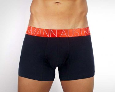 Mosmann Louis Boxer Brief Underwear Black CM1940