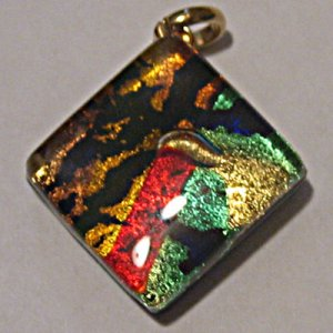 Elite Jewelry Murano Pendants or Cuff Links 020