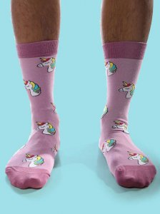 Curious Beaver Mystical Unicorn Socks