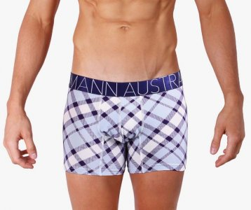 Mosmann Kilter Boxer Brief Underwear Aqua/Dark Blue CM2440