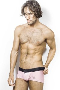 L'Homme Invisible Vie En Rose V Boxer Brief Underwear Pink MY19-AIR-T04