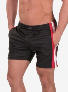 Barcode Berlin Amit Shorts Black/Red/White 91376-107