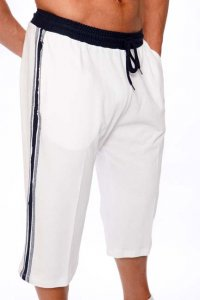 Pistol Pete Athlete Edge Jam 3/4 Shorts White JM380-260