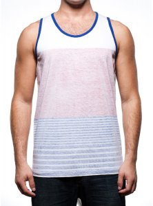 PX Clothing Hayden Tank Top T Shirt Red PX1200K
