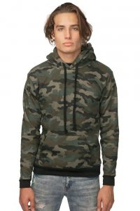 Royal Apparel Unisex Fleece Pullover Hoody Long Sleeved Sweater Camo 3515CMO