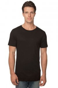 Royal Apparel Unisex Viscose Bamboo Organic Cotton Short Sleeved T Shirt Eclipse 73051