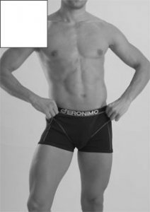 Geronimo Boxer Brief Underwear White 833B1