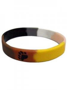 DBE Bear Pride Silicone Armband
