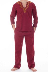 L'Homme Invisible Kassapa Ensemble Pyjamas Loungewear Tibeta...
