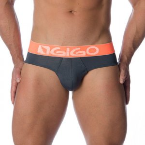 Gigo PUNT GREY Brief Underwear G01087