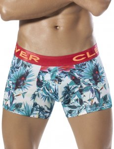 Clever Exotic Parrot Boxer Brief Underwear Green 2260