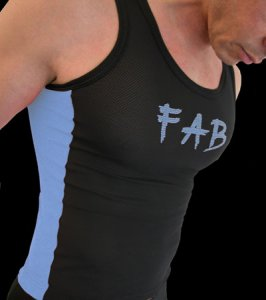 QZ Bodywear Club FAB Short Vest 306-54-466-25