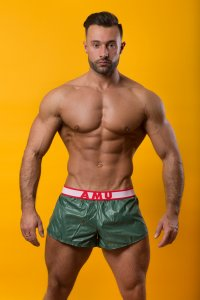 AMU Lightweight Shorts Green ALRRI-FO2
