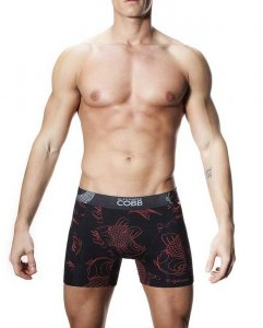 Alexander Cobb Koi Long Leg Boxer Brief Underwear 3CBL-72