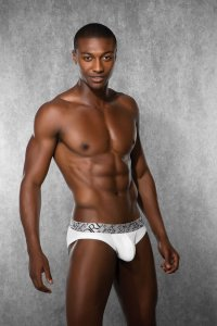 Doreanse Plain Brief Underwear White 1788