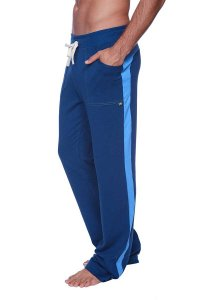 4-rth Eco Track Pants Royal Blue/Ice Blue