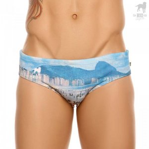 CA-RIO-CA Copa 60's Brief Cut Bikini Swimwear CRC-S412300