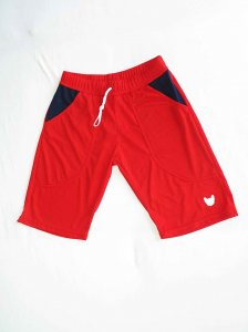Bullywear 2Skin Shorts Red LNGSH53
