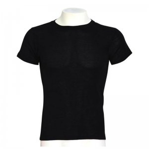 Minerva Thermal Short Sleeved T Shirt Black 10311