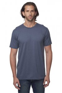 Royal Apparel Unisex Organic Short Sleeved T Shirt Pacific Blue 5051ORG