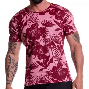 Jor PARADISE Short Sleeved T Shirt Red 0782