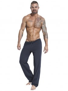 Jack Adams Relaxed Pants Charcoal Grey 402-110